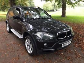 2007 BMW X5 3.0D E70 SE AUTO DIESEL BLACK 4X4 MEGA SPEC FULL SERVICE HISTORY