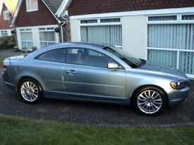 2006 56 plate Volvo C70 2.4 i SE Manual 2dr FSH, 2 Lady Owners