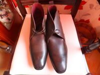 Brown Leather Boots size 11