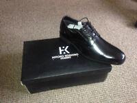 HIROKO KOSHINI HOMME lace up shoes, size 8 (41)