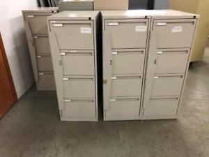 Secure 4 Drawer Vertical File Cabinets