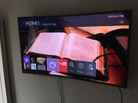 Samsung 48JS8500 UHD 4K Curved most expensive model at 48