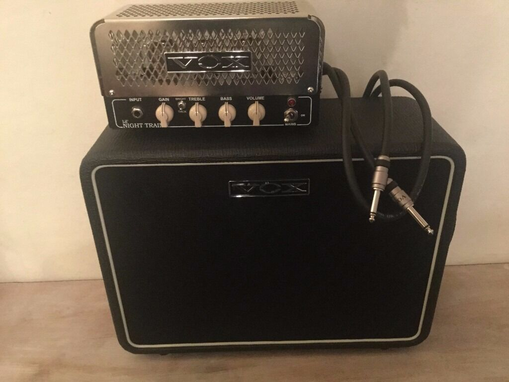 Vox Lil Night Train + 1x10 Speaker Cab Not marshall fender ...