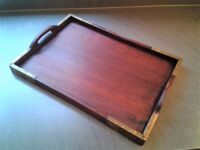 Beautiful Decorative Rosewood Tray