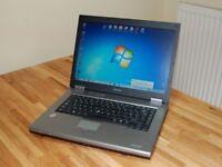 Toshiba Tecra Windows 7 Laptop, Good Spec, Quick & reliable. Nice Condition.