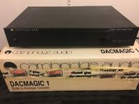 Cambridge Audio DAC MAGIC 1 Digital to Analogue Converter Boxed in great condition