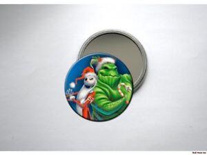 NIGHTMARE-BEFORE-CHRISTMAS-JACK-amp-OOGIE-Pocket-Mirror