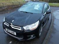 CITROEN DS4 1.6 HDI DSTYLE 5d 110 BHP (black) 2013