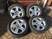 Audi Alloys and 205/55/16 tyres