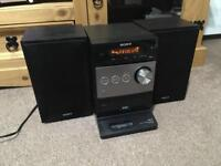 Sony DAB cd hifi system in excellent condition with remote control. £30
