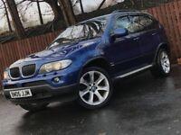 **AUTOMATIC** 2006 BMW X5 3.0 DIESEL BLUE PERFORMANCE SAT NAV 12 MONTH MOT
