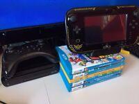 Zelda Edition Wii U Black 32GB with 5 awesome games!