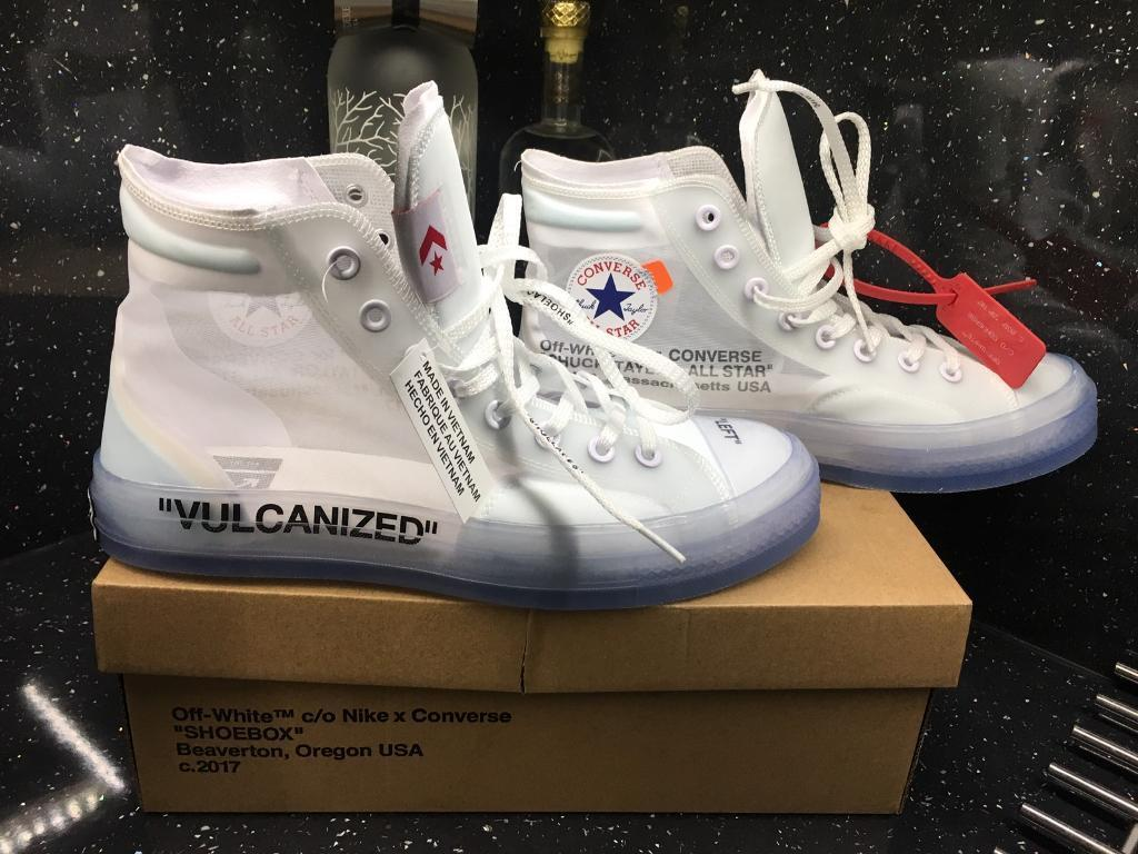1929a7c4ba1a Off White X Converse Chuck Taylor 70 All Star   Vulcanised UK 9.5