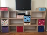 Lazzari Cube storage system with pull-out drawers