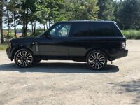 2010 Range Rover vogue se Fully loaded 22s Black 3.6 tdv8