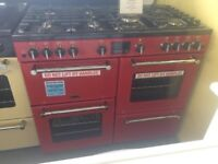 Graded 1000 Jalapeno Red Belling gas range