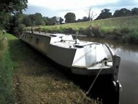 2 narrowboats canal boats old working pair, butty and motorboat both bantock 1895 1898 62ft & 72ft