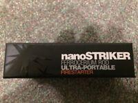 Exotac Nanostriker - Ultra-portable Ferrocerium Stove Fire Starter in Titanium