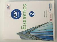 AQA A-Level Economics Year 2 textbook