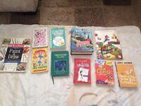 Art book and children's novels