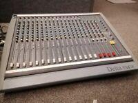 Soundcraft Delta 16 Channel Analogue Mixing Desk