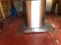 Glass extracted hood never fitted brand new just dusty.
