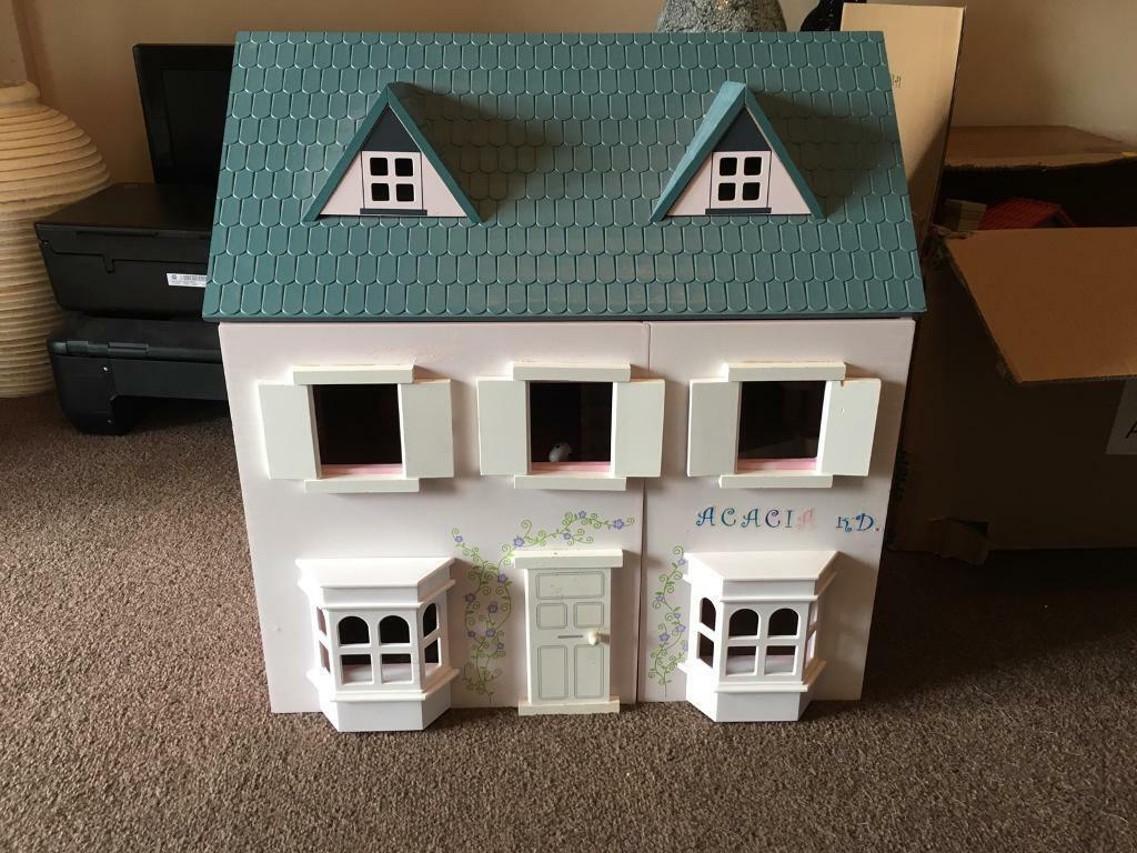 Rocking crib for sale doncaster - Victorian Wooden Dolls House