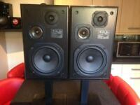 Pioneer 3 way sx speakers