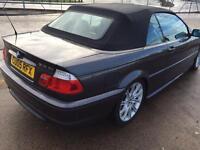 BMW 318 CI M SPORT CONVERTIBLE £2900