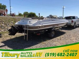 2008 GREW Fun Deck 200 Deck Boat Comes with trailer! Merc