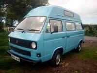 1984 VW T25 Camper Van Recon Engine Nice Clean Van with recent interior Bargain!