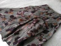 Per Una 12R Linen Skirt