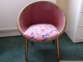 Retro vintage wicker chair