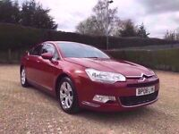 CITROEN C5 2.2 HDI EXCLUSIVE FULLY LOADED **95,000 MILEAGE** IMOLA RED