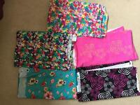 Lots of Lycra fabric spandex poly