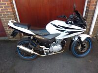 HONDA CBF125. 2010. LOW MILEAGE