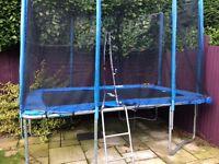 Rebo 7ftx10ft trampoline.