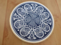 Limited Edition Bone China Celtic Plate by Anne Bowyer