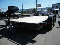 2014 Snake River 14' Competitor car trailer