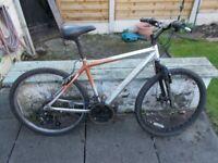 Medium size mountain bike for sale