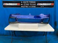 BMW 5 SERIES G30 SALOON G31 TOURING MSP FRONT BUMPER WITH CARBON FIBRE SPLITTERS PERFORMANCE 17-19