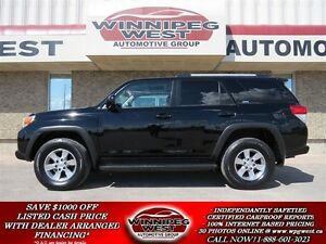 2011 Toyota 4Runner SPORT EDITION 4X4, HEATED LEATHER, SUNROOF,