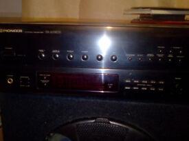 Pioneer SX203 RDS amplifier receiver