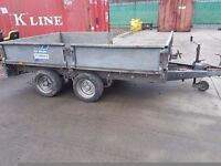 I for williams dropside trailer 10x6