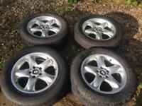 X5 wheels with tyres 255/55/r18