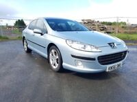 2007 Peugeot 407 diesel 2HDI Saloon,Hpi clear