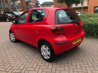 Toyota Yaris 1.3 VVT-i Red 5dr Petrol Cheap insurance