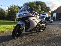 White Kawasaki EX 300 AEF 2014