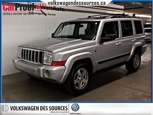 2007 Jeep Commander Sport, LEATHER, SUNROOF,