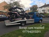 Scrap cars wanted 07794523511 top price for none runners damage any vehicle